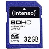 Intenso 3411480 Carte mémoire SDHC 32 Go Classe 10