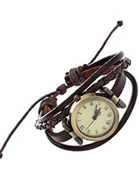 Schöne Uhren, Damen / Kinder Modeuhr / Armbanduhr / Armband-Uhr Quartz / Japanischer Quartz / / Punk PU Band Vintage...