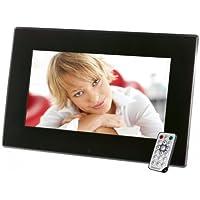 Intenso Mediastylist Digitaler Bilderrahmen (33,7 cm (14 Zoll) LCD-Display, Videofunktion, MP3-Funktion, Diashow, Fernbedienung) schwarz
