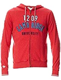 Pepe Jeans - Sweat-shirt à capuche - Homme rouge rouge