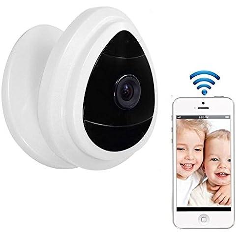 NexGadget Mini IP Cámara de Seguridad WiFi HD con Micrófono Detección de Movimiento Alarma