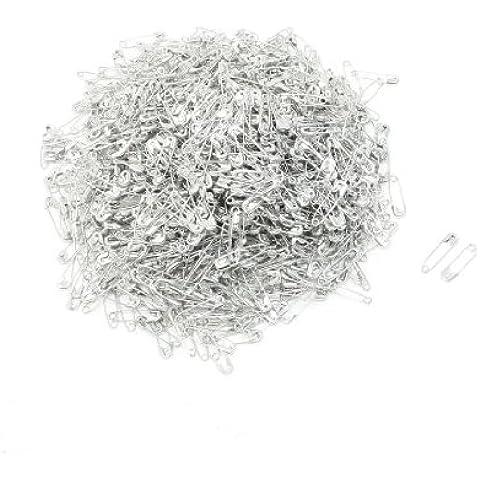 1000 Pezzi Tono Argento Metallico Clip Bottoni Allacciatura Attrezzo Spille Di Sicurezza