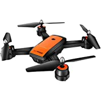 Wintesty LH-X34F Drone Dual Camera 720P HD FPV Altitude Hold Flow Posicionamiento Auto Take Photos Imagen WiFi Transmisión en Tiempo Real Drone Modo sin Cabeza Quadcopter