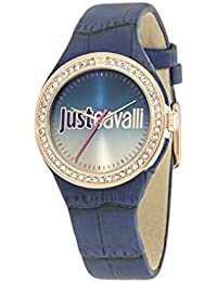 Just Cavalli Damen-Armbanduhr JUST SHADE Analog Quarz Leder R7251201503