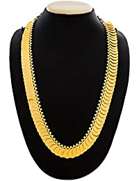 Aadita Gold Plated Gini Strand Necklace For Women And Girls