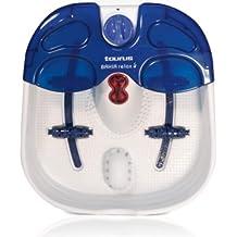 Taurus Bahia Relax - Hidromasajeador de pies (60 W, 3 velocidades de masaje, funciones de vibración, burbujas y calor infrarrojo)