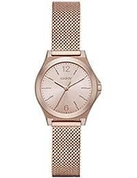 DKNY NY2489 PARSONS Uhr Damenuhr Edelstahl 50m Analog rose