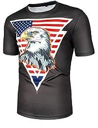 242f107eb516 Xmiral t Shirt Uomo Divertenti Maglietta #19041883