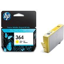 HP 364 - Cartucho de tinta Original HP 364 Amarillo para HP DeskJet, HP OfficeJet y HP PhotoSmart