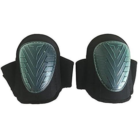 QUMAXX, Rodilleras de gel/ Protectores de rodillas para el trabajo y el jardín – Rodilleras profesionales/ Protectores de rodilla para jardinería y trabajos de construcción.