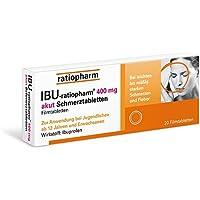 Ibu-ratiopharm 400 akut Tabletten, 20 St. preisvergleich bei billige-tabletten.eu