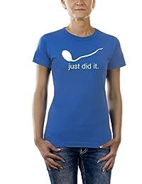 Touchlines Damen T-Shirt Just did it, TL123