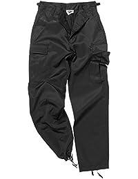 Mil-Tec BDU Ranger Combat Pantalons Noir