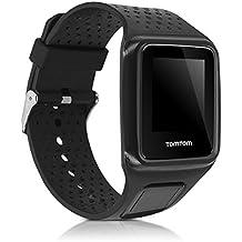 kwmobile Bracelet de remplacement pour le sport pour TomTom Adventurer Multisport / Runner 1 / Golfer 1 en couleur souhaitée - Bracelet en silicone avec fermoir de montre sans tracker
