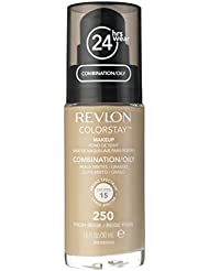 Revlon Colorstay 24 Hours / 24hrs Foundation - Fresh Beige (250) Comb/Oily 30ml
