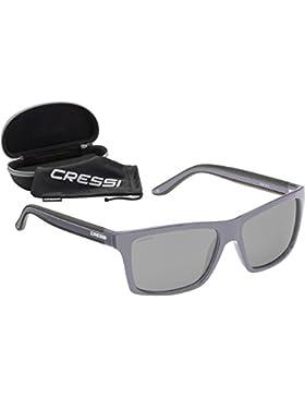 Cressi Rio - Gafas de Sol, Unisex, Adulto, Gris/Gris Claro, Talla Única