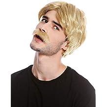 Amazonit Parrucca Uomo Biondo