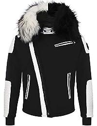 Amazon.es: Chaqueta Blanca - Chaquetas / Ropa de abrigo: Ropa