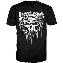 WWE brock lesnar Carnage calavera Logo oficial camiseta para hombre