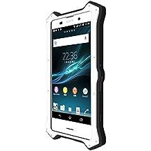 Love Mei Sony Xperia Z3 Plus (Sony Xperia Z4 E6553), Sony Xperia Z3 Plus Dual (Sony Xperia Z4 E6533) MK2 Funda Híbrida, Cover, Carcasa (Blanco)
