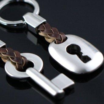 *Sie und Ihn Schloss und Schlüssel Schlüsselanhänger Set*