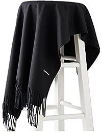 58e2fd8602cc Vedomon Mode Unisexe Souple en Cachemire Écharpes et foulards Pashminas  Châles Écharpe pour Femmes Hommes Fringe