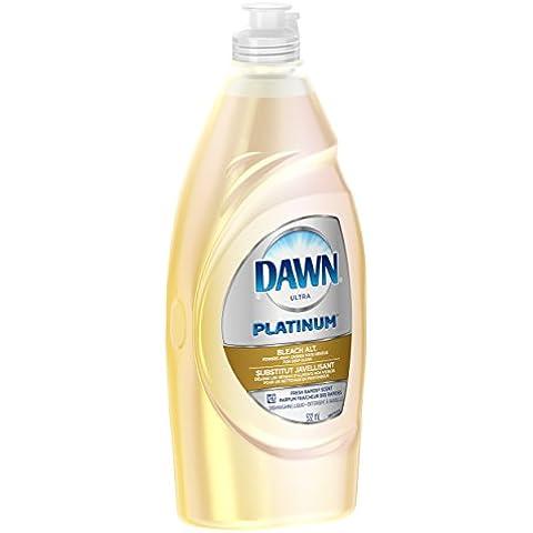 Dawn Ultra Platinum Dishwashing Liquid, Fresh Rapids Scent, Bleach Alternative,