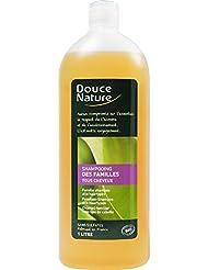 Douce Nature - PRI 4804 - Hygiène Cheveux Bio - Shampoing Familles Ortie Palmarosa - 1 l