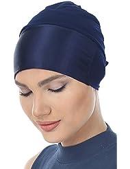 Bonnet viscose de satin avant pour la perte de cheveux, cancer, chimio
