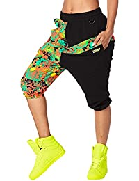 Zumba Fitness – Women's Queen of the Jungle Harem Capri Pants Woman Pants, Womens, Queen Of The Jungle Harem Capri Pants