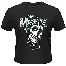 Plastichead Herren T-Shirt Misfits Coffin, Small