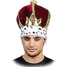 EUROCARNAVALES Corona de Rey con Piedras Preciosas