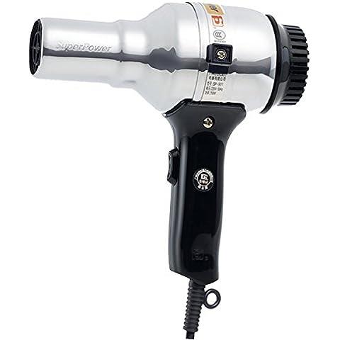 Professional AC Home asciugacapelli Asciugacapelli metallo shell muto temperatura bassa potenza capelli asciugacapelli pratico travel asciugacapelli