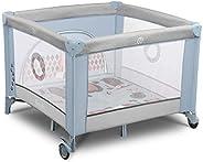 Lionelo Sofie Parque para bebés De viaje 100 x 100 x 76 cm Para niños de hasta 15 kg Perfecto en casa y de vac