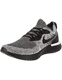 huge selection of 02a11 98437 Nike Men s Epic React Flyknit Running Shoes (8, Black Black White)