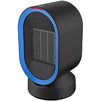 Wafalano Calentador eléctrico Mini Calentador de Ventilador Máquina de Escritorio Caliente Calentador de Calentador de Ventilador portátil para Oficina en casa