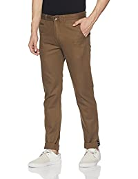 Peter England Men's Casual Trousers