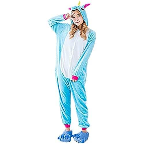 pijama de unicornio kawaii Prettycos Infantil Unicornio Pijama Ropa de Dormir Unisex Disfraz Unicornio Cosplay Animales Pijamas para Ninos