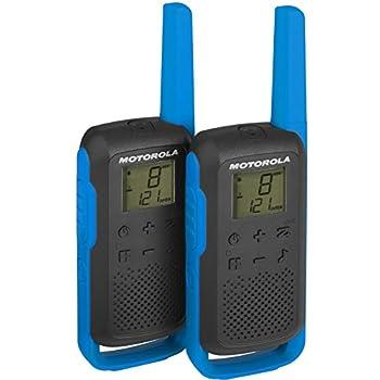 motorola Talk About T62PMR della Radio (PMR446, 16canali e 121Codici, Raggio d' Azione Fino a 8km)