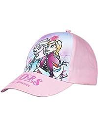 1cbb82a2050 La Reine des Neiges Casquette Enfant Fille Bleu Rose de 3 à 9ans