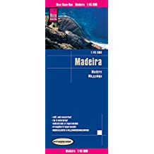 Reise Know-How Landkarte Madeira (1:45.000): world mapping project