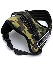 Pets Planet Service Dog Adjustable Harness Vest Cool Comfort Oxford Cloth for Dogs Chest Size