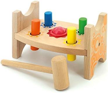 Jouet Petite Enfance Intelligence Cartoon Cartoon Knocking Table  s Puzzle Jouets éducatifs (couleur bois)   La Boutique En Ligne