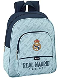 Safta Mochila Escolar Infantil Animada Real Madrid Corporativa Oficial 270x100x330mm