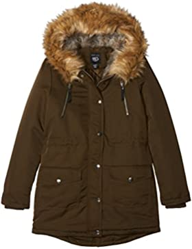 New Look Venice Faux Fur Lined Parka, Chaqueta para Niñas