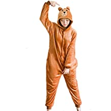 Kigurumi Pigiami Animali Tuta Costume Carnevale Halloween Festa Cosplay Unisex