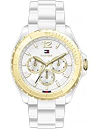Tommy Hilfiger Watches Damen-Armbanduhr Dylan Analog Quarz Plastik 1781428