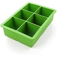 iNeibo - Bac à glaçons Cube Moule à glace en silicone - Accessoires du Bar (Vert)