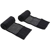 Gazechimp 2x Venda Elástica Compresión para Rodillas Codo Escalada Patinaje Andar Seguridad Deportivo Ropa Dolor Alivio - 40cm