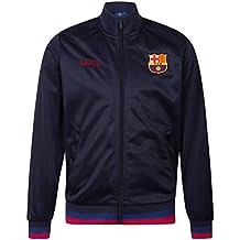 FC Barcelona - Chaqueta de entrenamiento oficial - Para hombre - Estilo  retro 77e9383c954